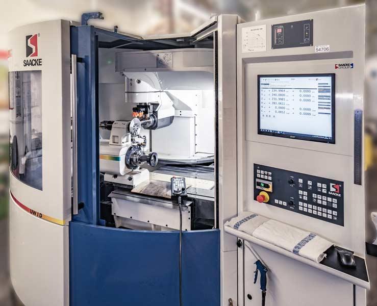 PWS Schärfservice Werkzeugschleifmaschine